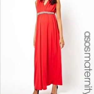 ASOS Maternity gown